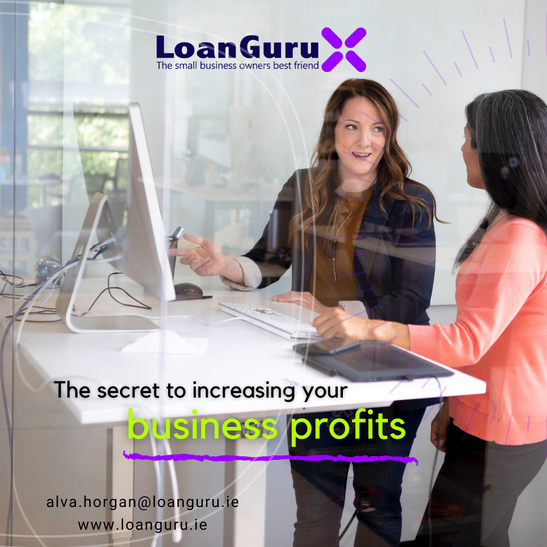 Loan Guru increase business profits poster